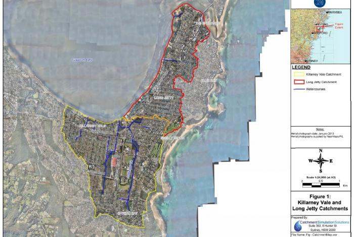 Killarney Vale and Long Jetty Catchments - Floodplain Risk Management Study and Plan