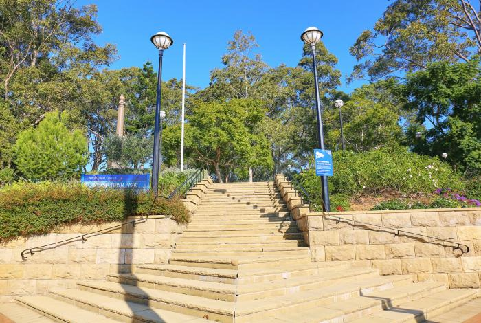 Stairs at Wyong Town Park