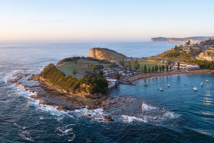 Aerial image of Terrigal Haven